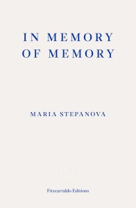 Read more about the article Teresa Cherfas reviews 'In Memory of Memory' by Maria Stepanova