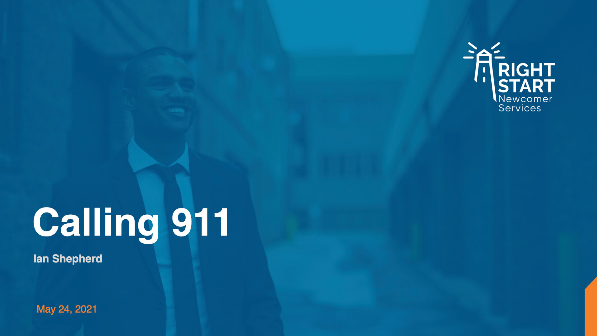 Learn Canadian English - Calling 911 slides