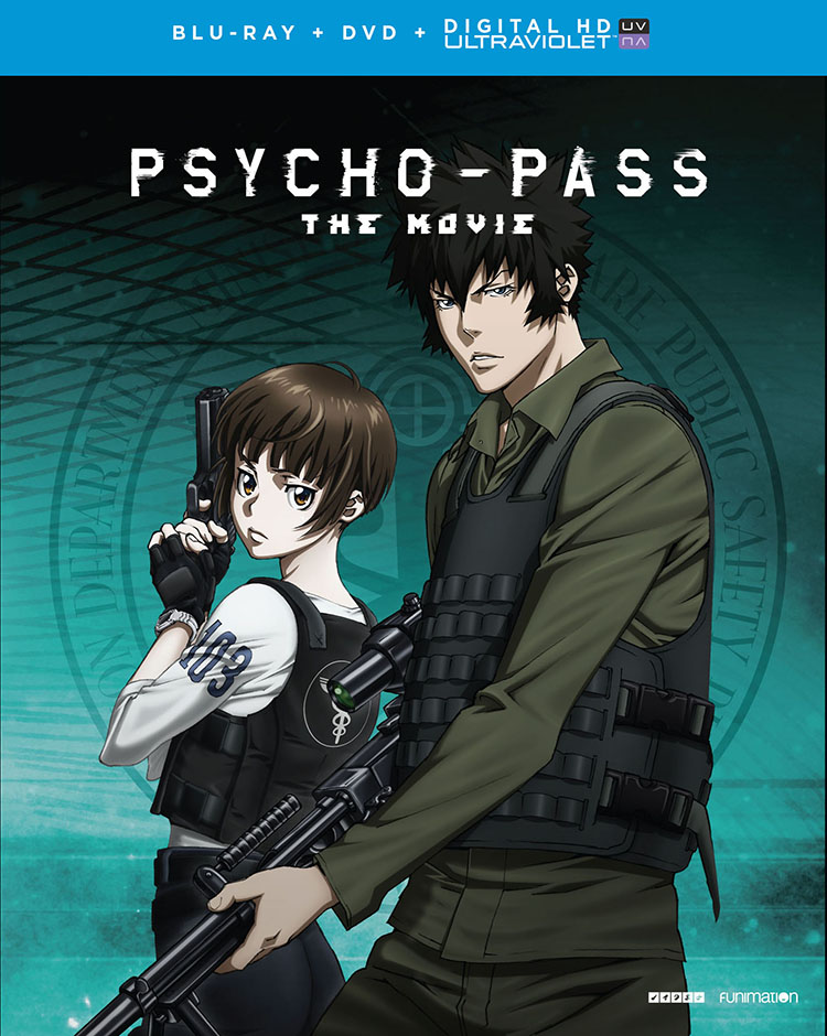 Psycho Pass The Movie Blu Ray Dvd