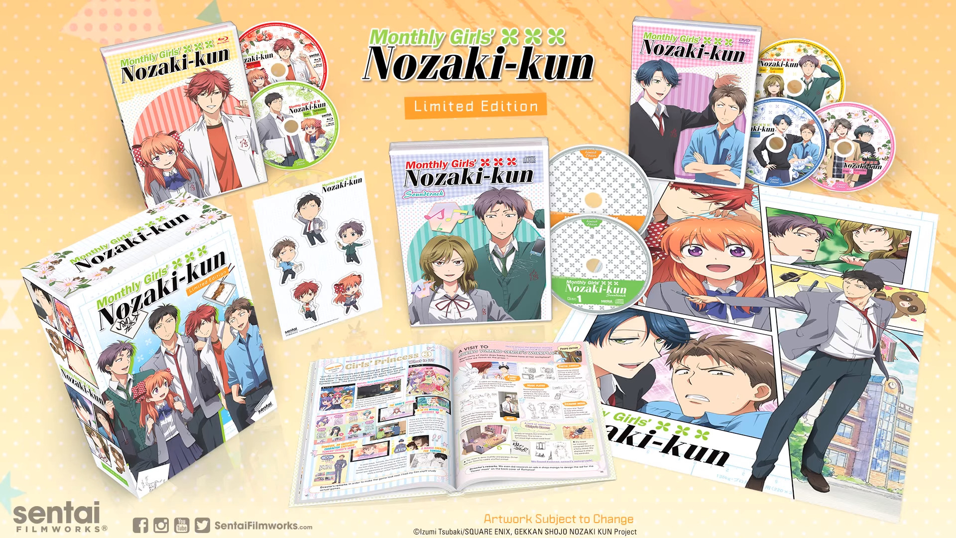 Monthly Girls' Nozaki-kun Limited Edition