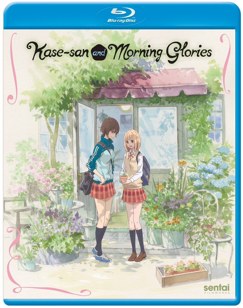 Kase-san and Morning Glories Blu-ray