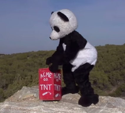 This Explosion Experiment Takes Balls And A Panda Rtm