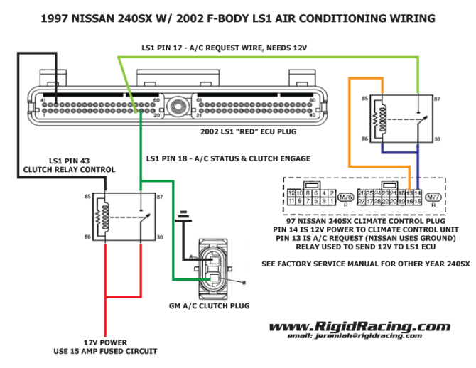 97 nissan 240sx wiring diagram  wiring diagrams database