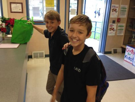 School's Out Forever . . . Bryce and Trent get their walking papers.
