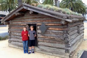 Trent and Bryce note that Jack London lived by himself in a space equivalently shared by four of us!