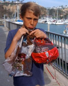 Don't make Bryce sad.  Keep a tight rein on those potentially lethal balloons.