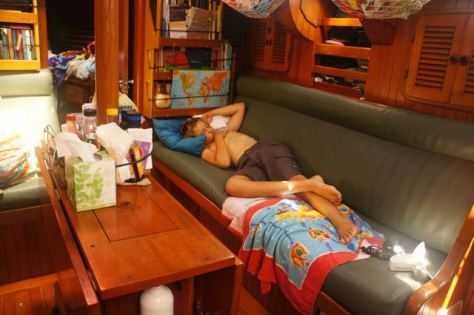 Sleeping takes us away...