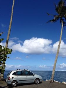 Our little Tahitienne beater car!