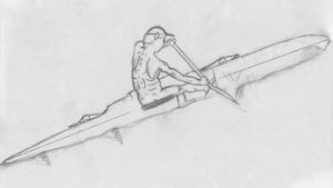 Bryce's V-1 outrigger drawing