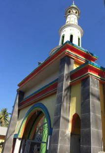 Entrance to Medana Bay mosque