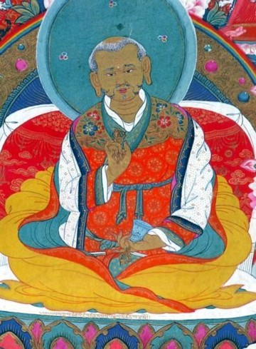 Jetsun Rinpoche Drakpa Gyeltsen (1167-1216) © Rigpawiki.org
