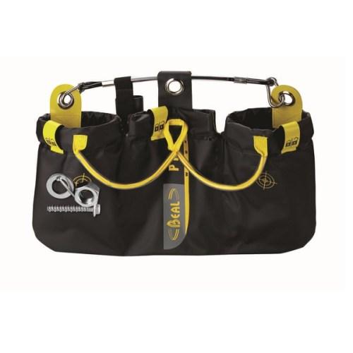 Beal Genius Triple magnetic tool bag | Beal work at height & rope access equipment