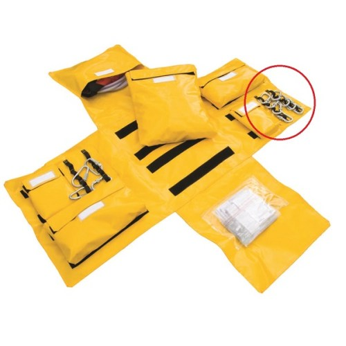 Lyon modular first response bag gear loops | Lyon work at height & rope access equipment