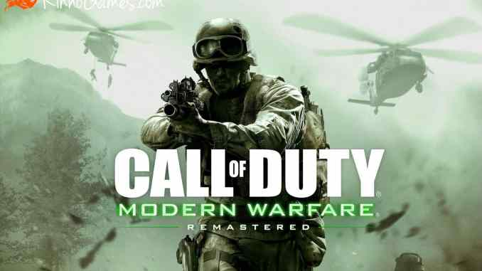 Call of Duty Modern Warfare Remastered Download