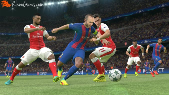 Pro Evolution Soccer 2017 Download PC