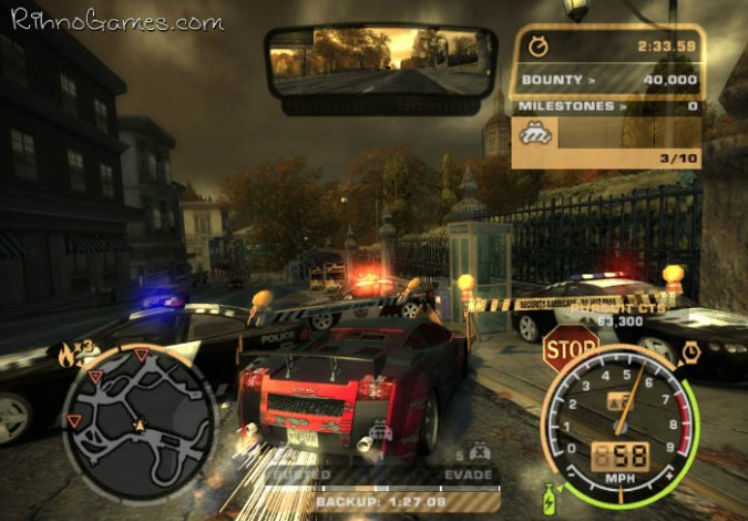 Need for Speed Most Wanted 2005 Game for PC