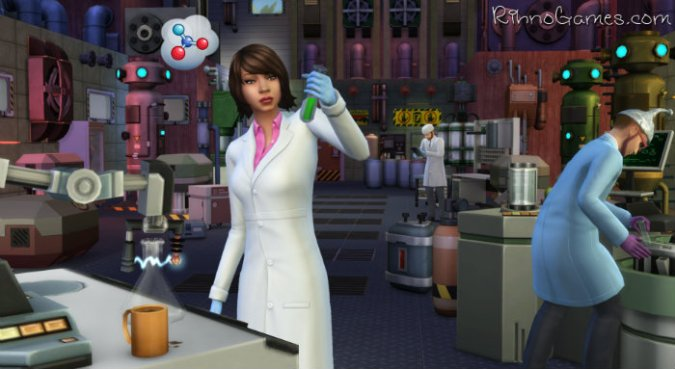The Sims 4 Get to Work Download