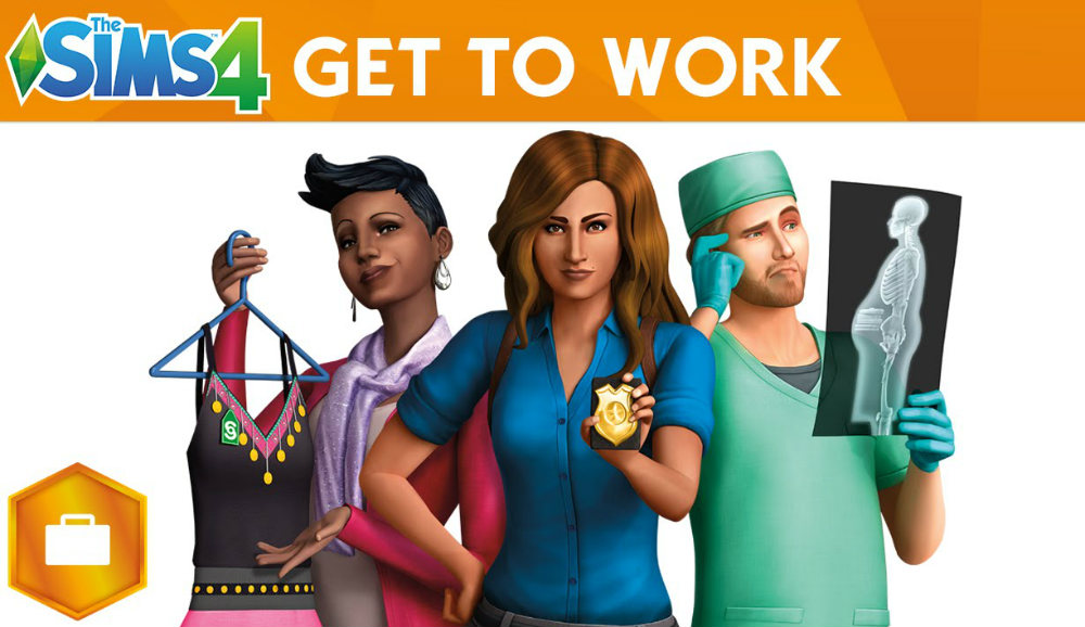 The Sims 4 Get to Work Free Download for PC