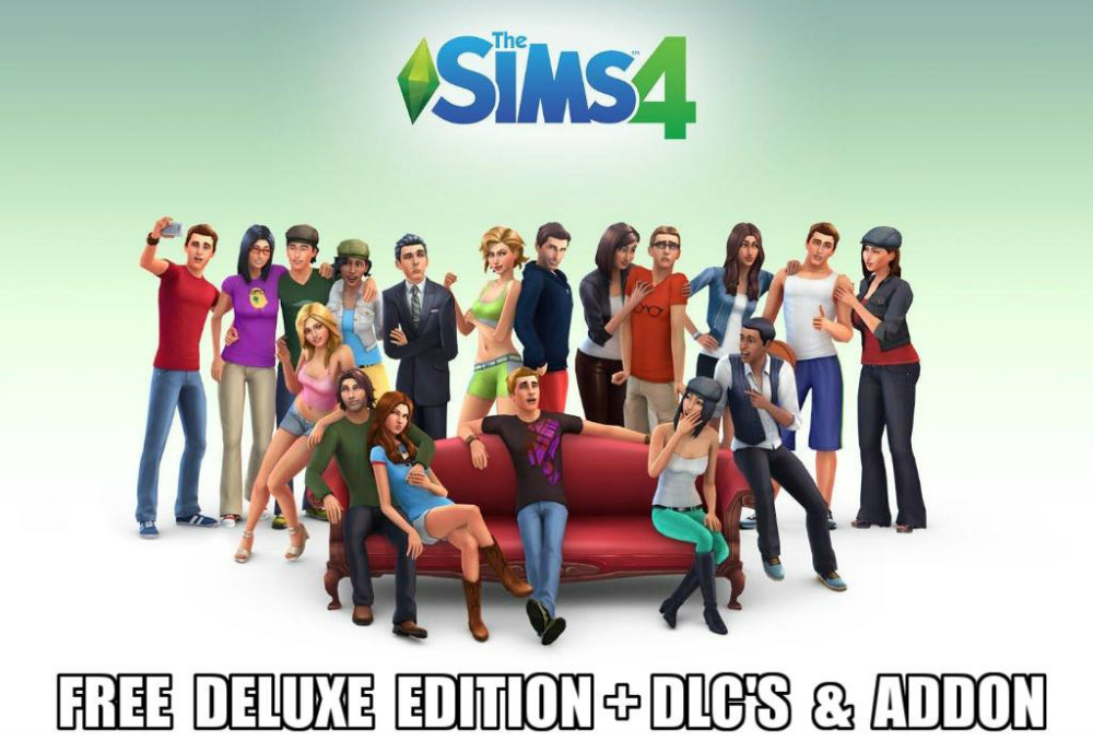 The Sims 4 Download Deluxe Edition Free for PC + all Expansion Packs or DLC's