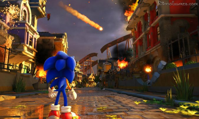 Sonic Forces Game