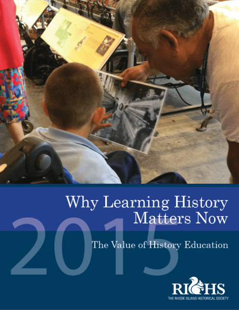 Why Learning History Matters Now