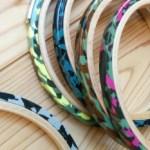 SABAE 刺繍枠 カモフラ