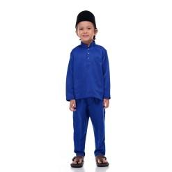 Baju Melayu Kids EGYPTIAN BLUE - Rijal & Co 01