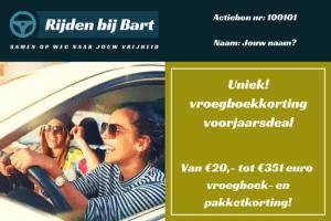 Gratis proefles rijschool Zwolle, Pakketkortingen op rijlessen in Zwolle. Voordelig je rijbewijs halen.