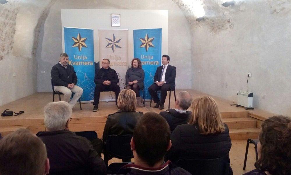 Kandidati Unije Kvarnera i Pametno predstavili se na Grobniku
