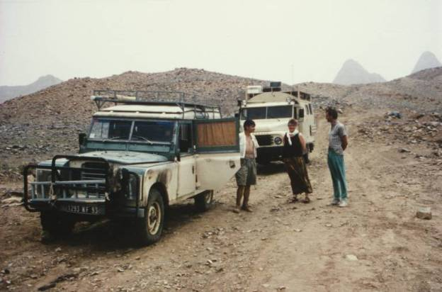 Algerien - Motorschaden im Hoggargebirge