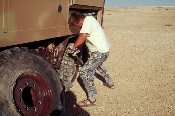 Libyen Minenerfahrung