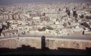 Syrien - Aleppo Blick von der Burg