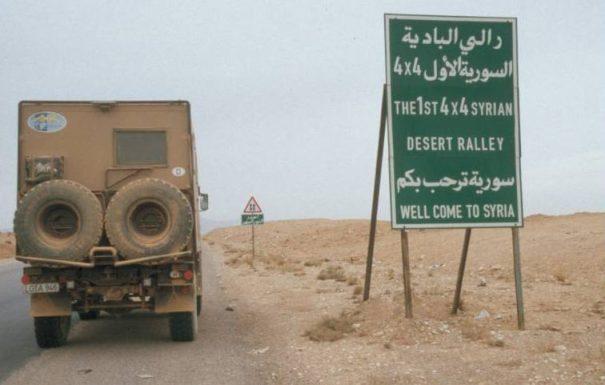 Syrien Off-Road Rallye