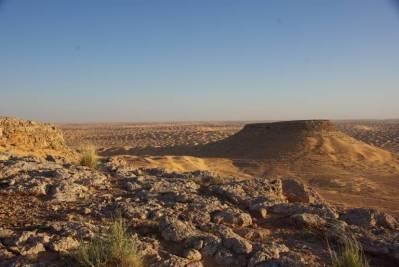 Tunesien Tafelberg Tembain