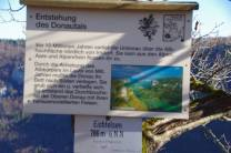 Eichfelsen an der oberen Donau