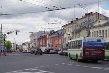 Im lebendigen Zentrum von Jaroslawl