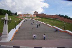 ...und hinauf zum 1511 fertiggestellten Kreml