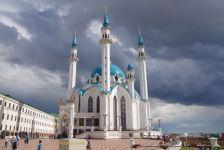 ...die größte russische Moschee,...