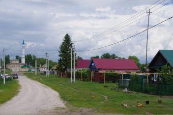 Bolgar - Kleinstadt, fast ohne mehrstöckige Häuser...