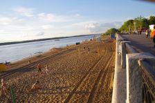 ...und einem wunderschönen Wolga-Sandstrand