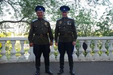 Parade für uns - Veteranen der Sowjetarmee