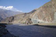 Unser künftiger Begleiter bis Khorog - der Panj