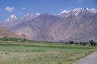 Der Hindukusch - Blick in Richtung Wakhan-Tal