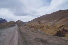 Auffahrt zum Ak-Bailtal-Pass...