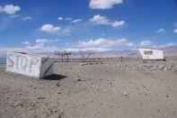 Das Dorf Karakul, der letzte Ort vor der Grenze