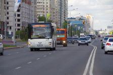 Das einzige öffentliche Verkehrsmittel zur Expo - der Bus