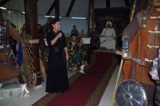 Ausstellungseröffnung zum Thema Dschingis Khans Clan am 21.9.2017