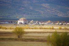 ... zum buddhistischen Lama-Kloster Ivolginskij datsan