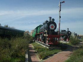 Sehenswert, das Eisenbahnmuseum