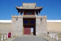 Das Haupttor zum Kloster, das auf den Mauern von Karakorum (1235) errichtet wurde